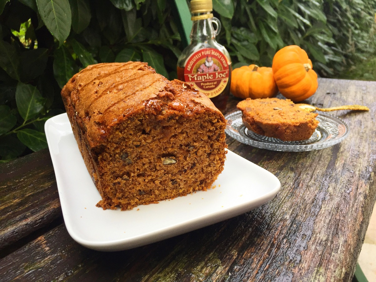 Cake d'Automne : Butternut, Noix de Pécan, Cannelle & Sirop d'Erable !