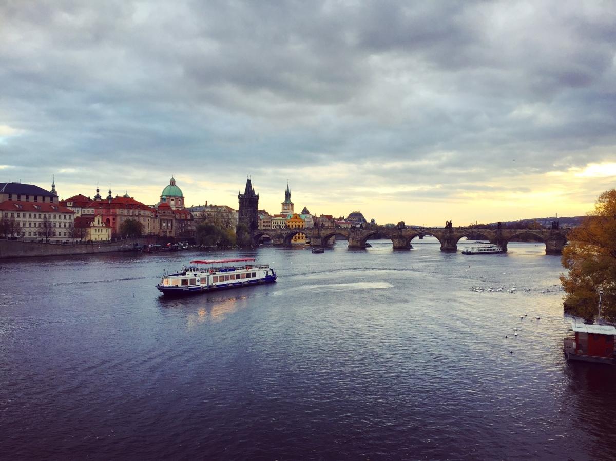 Prague la belle, Prague la magnifique.