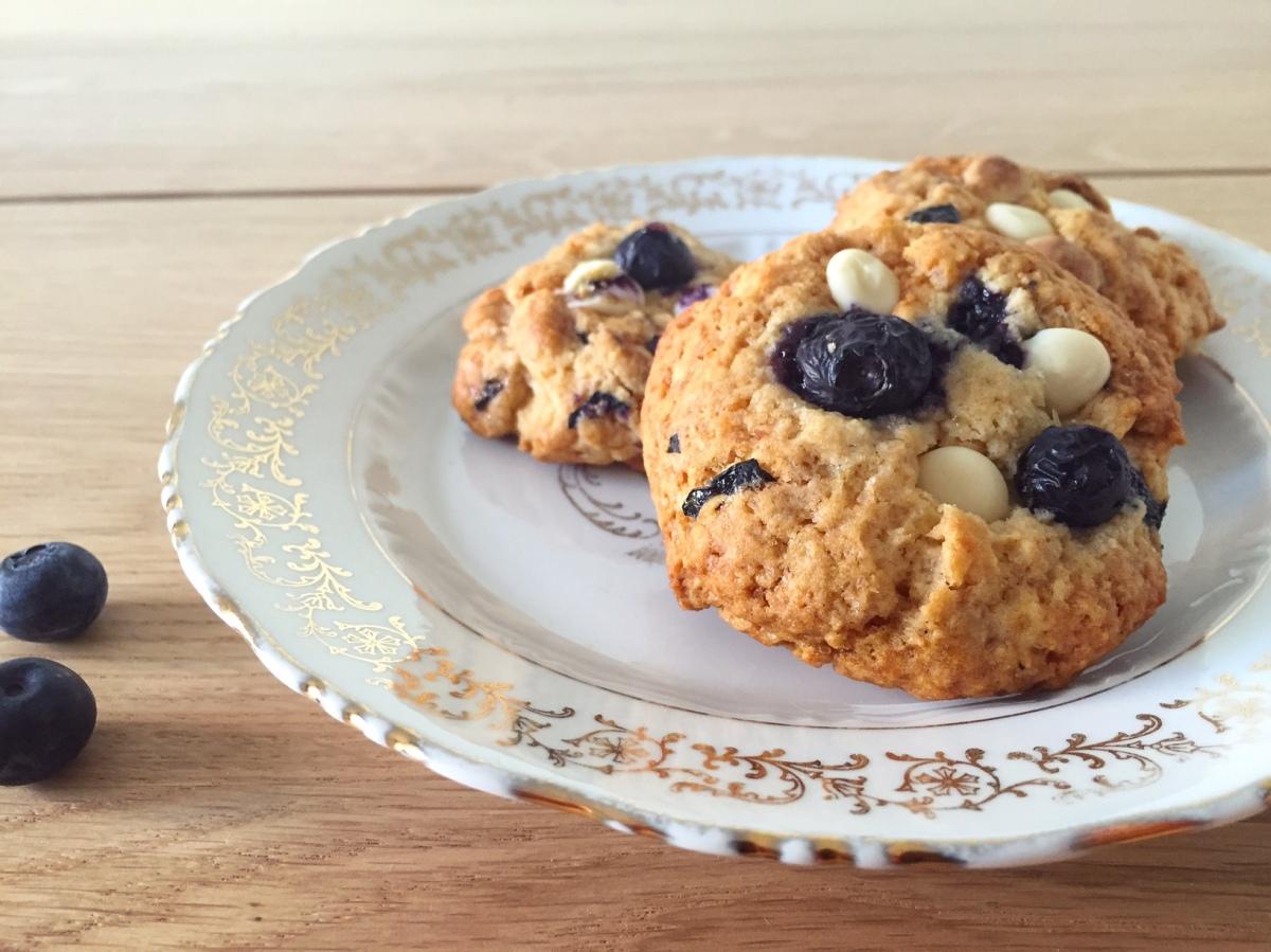 Cookies Myrtilles & Chocolat blanc