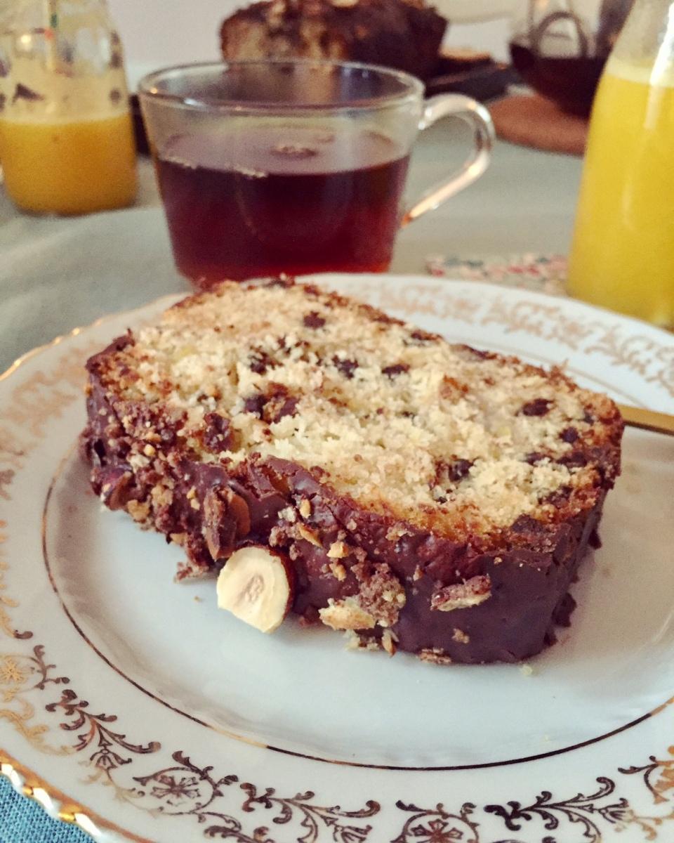 Cake Gourmand Chocolat/Banane de Christophe Felder